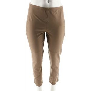 Women with Control Slim Leg  Front Seam Ankle Pant
